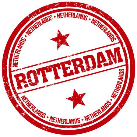 rotterdam: rotterdam stamp