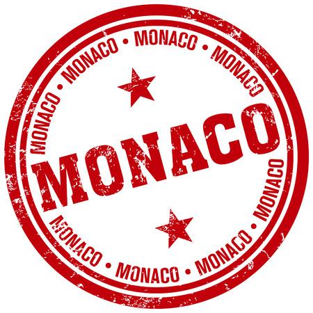 monaco: monaco stamp