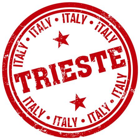 trieste: trieste stamp