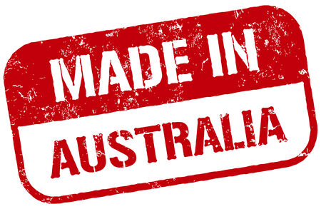 sydney: made in australia stamp