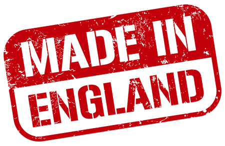 made in england stamp Illustration