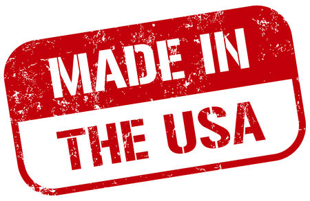 made: made in usa stamp Illustration