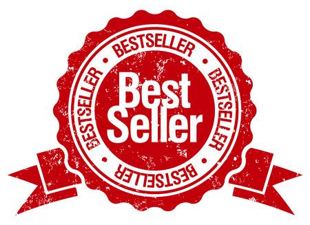 best seller: best seller stamp Illustration