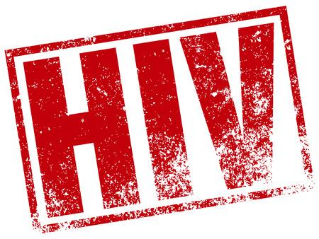 aids virus: hiv stamp