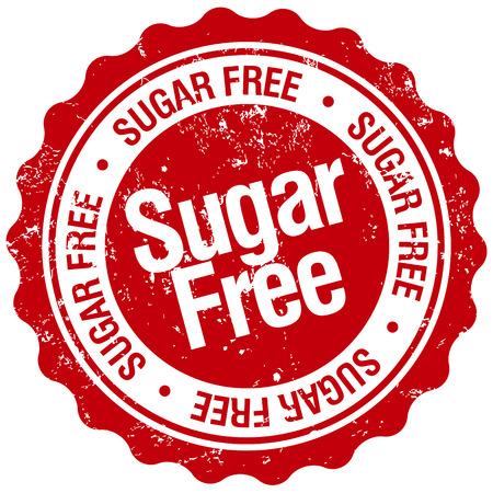 Zucker kostenlose Stempel Standard-Bild - 33888605