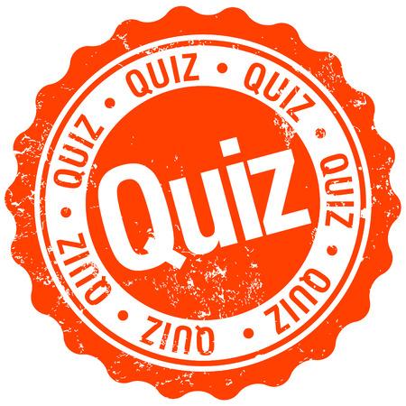quiz test: quiz stamp