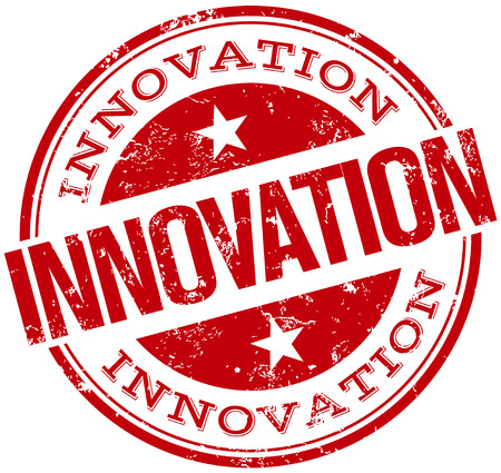 innovation stamp Ilustrace