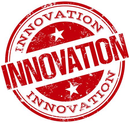 innovation stamp Vettoriali