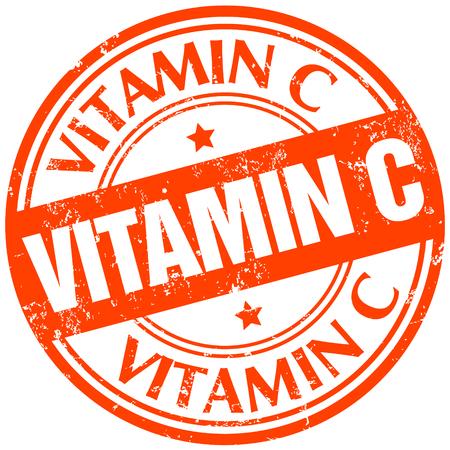 vitamin: vitamin c stamp