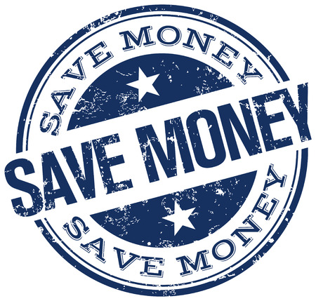 save money: save money stamp