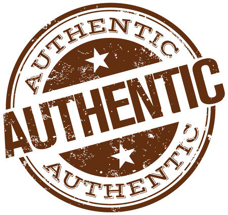 authenticity: authentic stamp