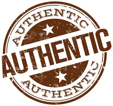 authentic stamp Imagens - 33888514