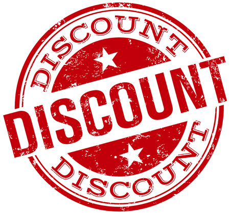 discount stamp Imagens - 33919789