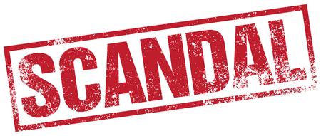 scandal: scandal stamp