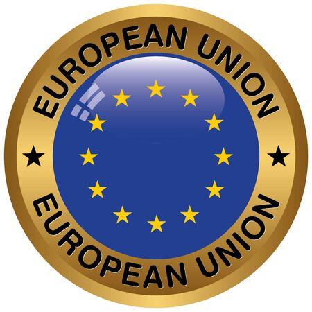 evropský: evropská ikona unie