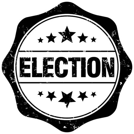 local election: election stamp