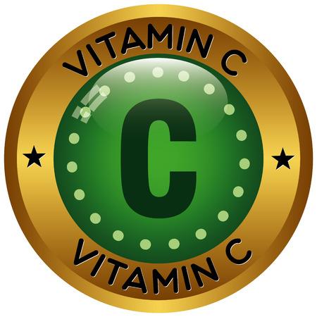 vitamin c icon Illustration