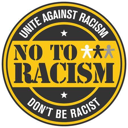 black people: no to racism