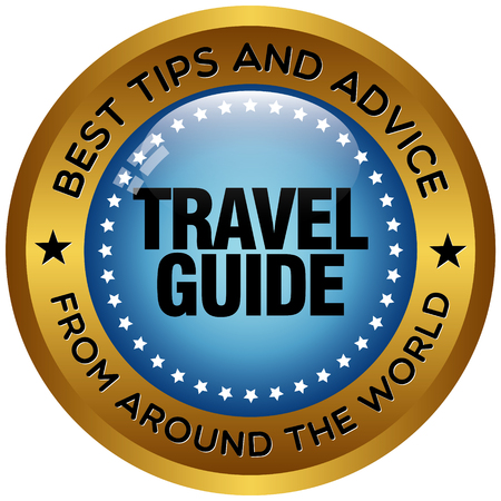 discovering: travel guide icon