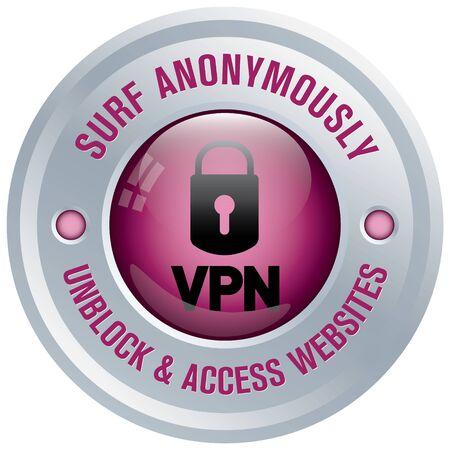 internet security: vpn icon
