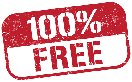 free business: 100 free stamp