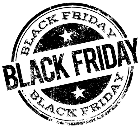 black friday: black friday stamp