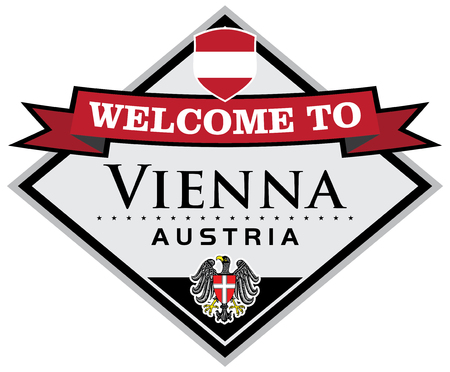 welcome to vienna Ilustrace