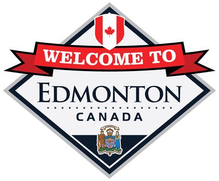 edmonton: edmonton canada sticker