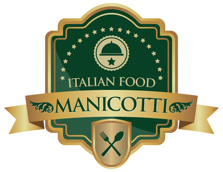 food: manicotti italian food sticker