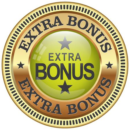 Extra-Bonus-Symbol Standard-Bild - 47693097