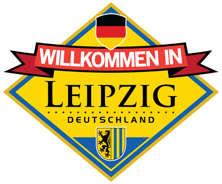 leipzig: leipzig germany sticker