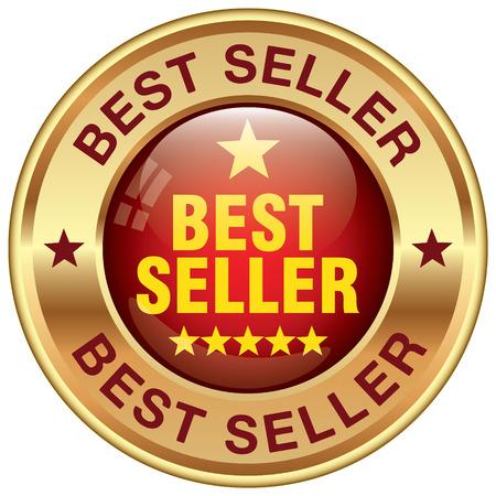 at best: best seller rosette Illustration