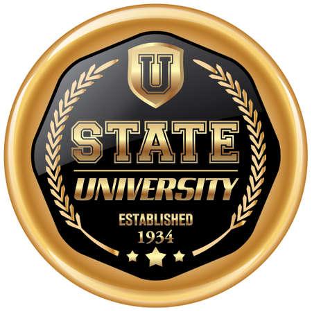established: state university icon