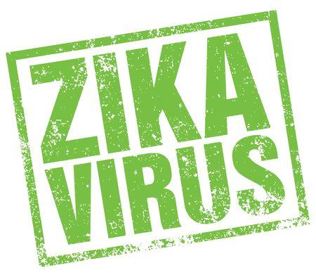 ailing: zika virus Illustration