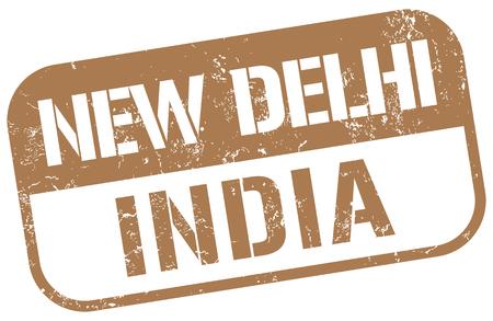 new delhi: new delhi india Illustration