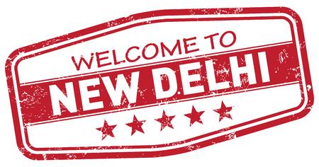 new delhi: welcome to new delhi Illustration