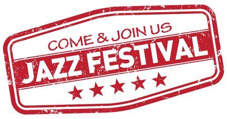 jazz time: jazz festival stamp