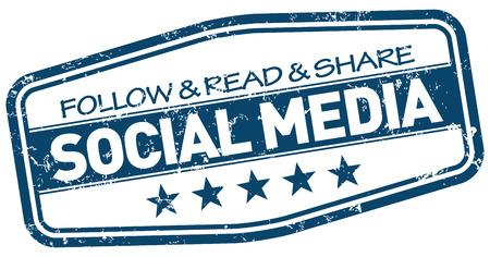 tweet icon: social media stamp Illustration