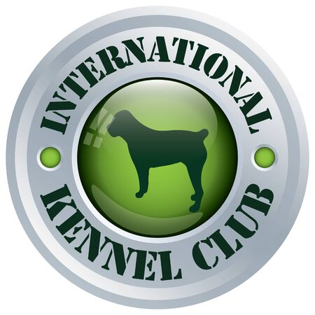 dog kennel: dog kennel club rosette