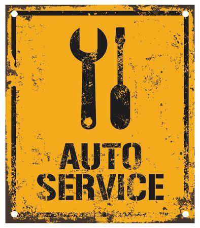 auto service: auto service sign