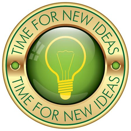 new ideas: new ideas icon Illustration
