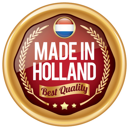 made in netherlands: made in holland icon