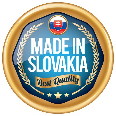 slovakia: made in slovakia icon