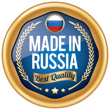 made in russia: made in russia icon