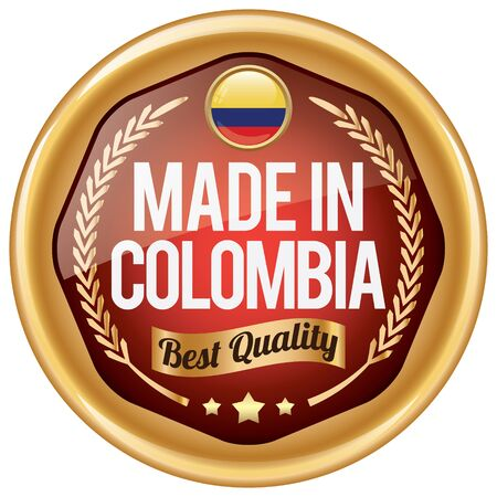 colombia: made in colombia icon
