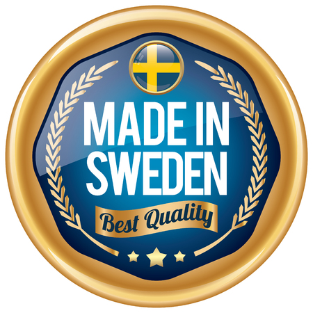 sweden: made in sweden icon