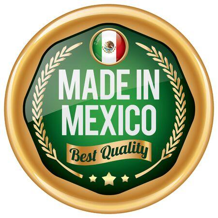 mexico: made in mexico icon