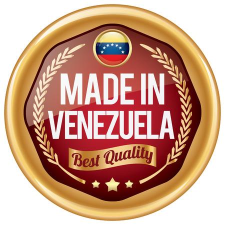 venezuela: made in venezuela icon