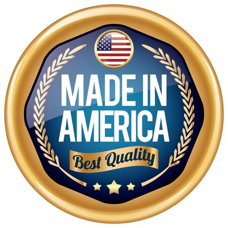 made: made in america icon Illustration