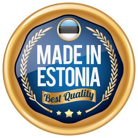 estonia: made in estonia icon